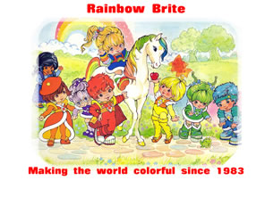 Rainbow Brite Wallpaper