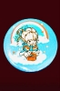 Rainbow Brite<br />Sitting Pin