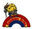 Rainbow Brite Iron On Patch