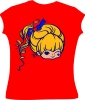Rainbow Brite<br />Winking Flocked<br />Changes Tee