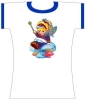 Rainbow Brite<br />with Mushroom<br />Changes Tee