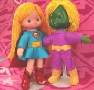 Super Girl and Brainiac
