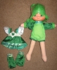 Patty O'Green Dress Up Doll
