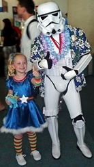 Rainbow Brite and Storm Trooper