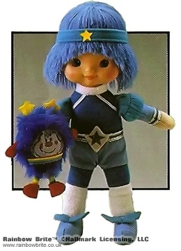 9 inch Buddy Blue Doll