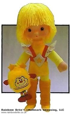 9 inch Canary Yellow Doll