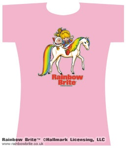 Rainbow Brite Twink and Starlite Changes Tee