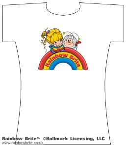 Rainbow Brite and Twink Logo Changes Tee