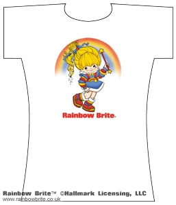 Rainbow Brite with Wand Changes Tee Shirt