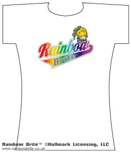 Rainbow Brite Baseball Style Changes Tee
