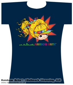 Rainbow Brite with Visor Changes Tee Shirt