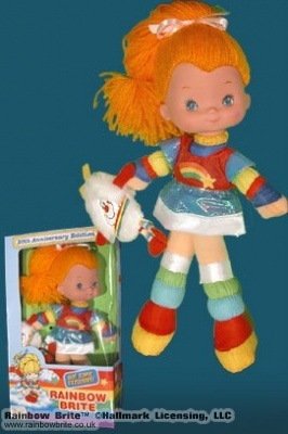 20th Anniversary Rainbow Brite Doll